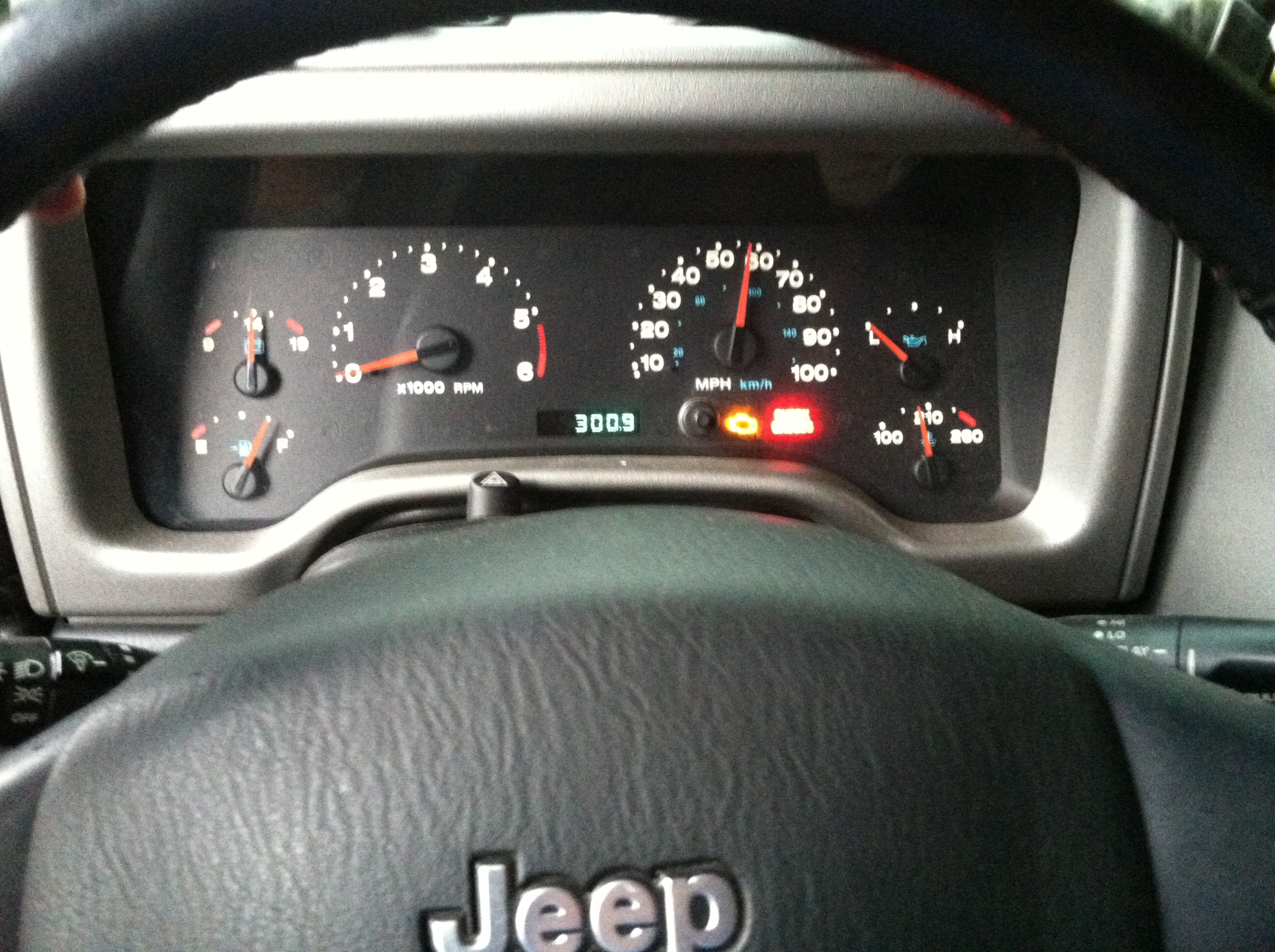 Cummins 4bt Jeep Wrangler Tj Diesel Conversion Vnutz Domain 2006 Fuel Filter Location 300 Miles With 3 4 Of A Tank Remaining Is Pretty Sweet